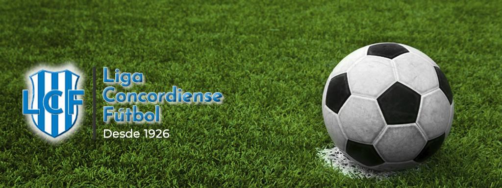Torneos de la Liga Concordiense de Fútbol